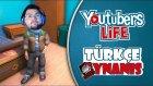 Youtuberların Yaşamı YouTubers Life Türkçe   Bölüm 11   Yüzbin Abonem Oldu Olley Be!