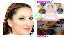 Diyet Yapanlara Şekersiz Unsuz Low Carb Muffin Tarifi | Zehra Yavuz - Republicofbeauty