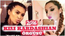 Kim Kardashian Saç Örgüsü 2016 | Zehra Yavuz - Republicofbeauty