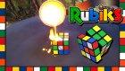 Rubik Kübe Eritilmiş Bakır Dökülürse