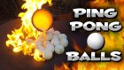 Pin Pon Toplarına Eritilmiş Bakır Dökülürse