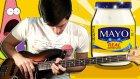 Seven Nation Army Şarkısını Mayonezle Yorumlayan Garip Müzisyen