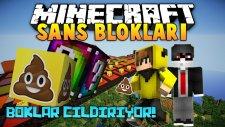 Boklar Çıldırıyor! - Minecraft Boklu Şans Blokları Yarışı !