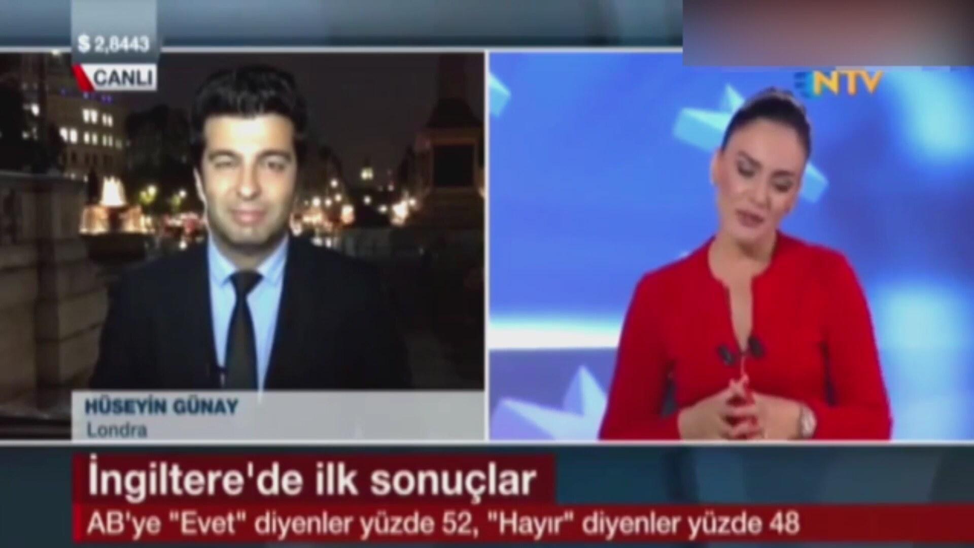NTV Spikeri Buket Aydın Canlı Yayında Kahkahalara Boğuldu