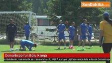 Osmanlıspor'un Bolu Kampı