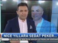 Beyaz TV'de Sedat Peker'in Doğum Gününün Kutlanması