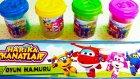 Harika Kanatlar Oyun Hamuru Renkleri Öğreten Video