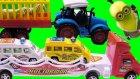 Oyuncak Traktor Polis Arabalı Tır ve Pepee TonTon Araçlar Minyonlar Kevin