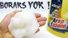 Borakssız Arap Sabunu ile Slime Oluyormu Denedim Evde Slime Yapımı