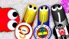 Efsanevi Takım Yılanları! (Galatasaray, Fenerbahçe ,beşiktaş) - Slither.io