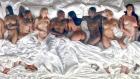 Kanye West'in Son Klibi Adeta Çıplak Ünlüler Geçidi
