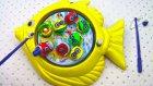 Oyuncak Balık Tutma Oyunu Çocuklar için Eğlence