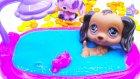 Sevimli Minişler Slime Banyosu Yapıyor Oyuncak Banyo Seti