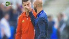 Zaza Ve Morata Maç Öncesi Şakalaştı