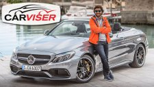 Mercedes AMG C63S Cabrio Test Sürüşü - Review (English subtitled)