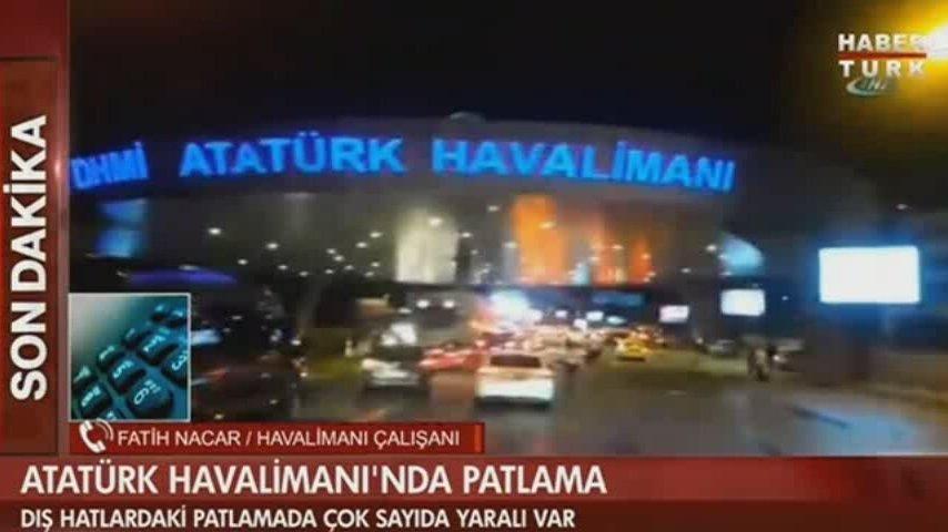 Atatürk Havalimanı'nda Patlama 28 Haziran Salı 2016