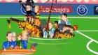 İzlanda - İngiltere maçı animasyon film oldu