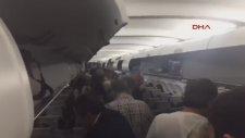 Uçakta Kaptan Pilottan Saldırı Anonsu