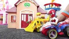 Harika oyuncaklar - Paw Patrol - Rubble ve Rocky inşaatta çalışıyorlar