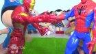 Pepee ile RGG Ayas, Iron man ve Örümcek adamı kapıştırıyor. Ironman vs Spiderman.