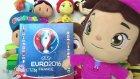 Pepee, Niloya ve Leli Resmi UEFA Euro 2016 France Panini çıkartma albümünü tanıtıyor