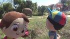 Pepee ve Niloya Hayvanat bahçesinde Fil ve Gergedan görüyorlar 4K UHD. Pepee in the Zoo pt. 2
