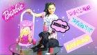 Barbie Pazar Ve Market Arabası Tanıtımı Barbie Dev Alışveriş Arabası Ve Köpeğimiz Kömür De Bizimle