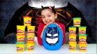Batman DEV Oyun Hamuru Sürpriz Yumurta Açma Süpermen Thor Hulk Transformers Justice League Oyuncağı