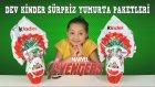 Dev Marvel Avengers Kinder Sürpriz Yumurta Hediye Paketleri | Kinder Surprise Eggs Marvel Avengers
