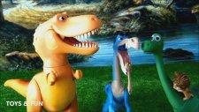 Disney Pixar İyi Bir Dinozor - Spot, Arlo, Ramsey Ve Rustler Oyuncak. The Good Dinosaur Toy Story