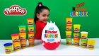 Kinder Maxi Dev Sürpriz Yumurta Açma Oyun Hamuru Frozen Spider Man Disney Kinder Surprise Maxi Egg
