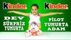 Kinderin Kocaman Maskot Yumurtasını Açıyoruz - Kinder Sürpriz Yumurta Adam | Kinder Egg Man