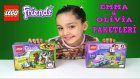 Lego Friends Paketleri Açıyoruz | 2 Kutu Birden Lego Friends Oyuncaklar Olivia & Emma Paketleri