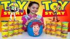 Oyuncak Hikayesi Oyun Hamuru Dev Sürpriz Yumurta Açma - Oyuncak Hikayesi Filmin den Woody Yumurtası