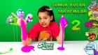 Patlak Gözlü Sümüksü Slime Kusan Zombi Yaratık Oyuncaklar 2. Bölüm | Slimy Zombie Bag Man