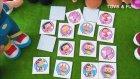 Pepee İle Hafıza Oyunu 2 - Peluş Pepee, Maymuş, Mine İle Bu Kez Daha Zor Hafıza Oyunu Oynadık