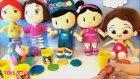 Pepee Oyun Hamuru - Pepee Ve Niloya, Leli İle Şila Birlikte Oyun Hamuru Oynuyorlar