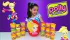 Polly Pocket DEV Sürpriz Yumurta Açma Oyun Hamuru Polly Pocket Oyuncakları Winx Frozen MLP Tsum Tsum