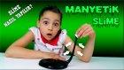Slime yapımı! Canlı Hareket Eden Manyetik Slime | How To Make Magnetic Slime