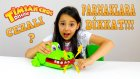 Timsah Croc Dişçide Oyunu Oynadık Cezalı Yarışma Çiğ Yumurta