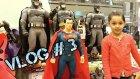 Vlog # 3 Batman v Superman Adaletin Şafağı Filmine Gittik |Toyzz Shop Da Oyuncakları İnceledik Aldık