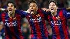 Messi, Suarez Ve Neymar Üçlüsü!