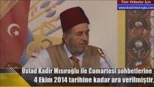 Mısıroğlu Kadir'in Prof.Dr. Halil İnalcık'a Kafa Tutması