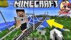 Boğaz Köprüsü Yaptık | Minecraft Yapıları | Bölüm 1 - Oyun Portal