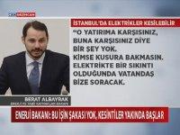 Yatırım Yapılmazsa İstanbul Elektirksiz Kalabilir - Berat Albayrak
