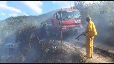 Hedefi Şaşıran Yangın Söndürme Helikopteri