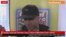 Penaltı Kaçıran Simone Zaza İtalya Halkından Özür Diledi