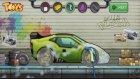 Araba Yıkama Oyunu Oyna YEŞİL SPOR ARABA! Car Wash Game Play! Araba Yıkama Salonu Çizgi Filmi!