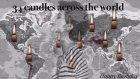 Tuba Büyüküstün için 34 Ülkeden Aynı Klipte 34 Mum Üflendi
