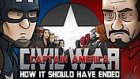 Captain America: Civil War Filmi Nasıl Bitmeliydi?